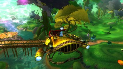 Wildstar Travelling in a taxi