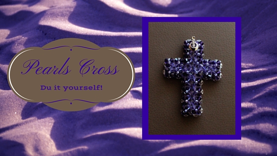 How to make a Swarovski Cross Necklace