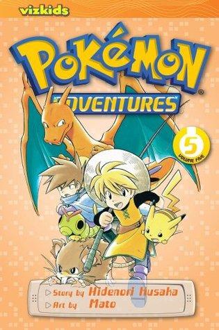 15 Pokémon Adventures Volume 5 Hidenori Kusaka