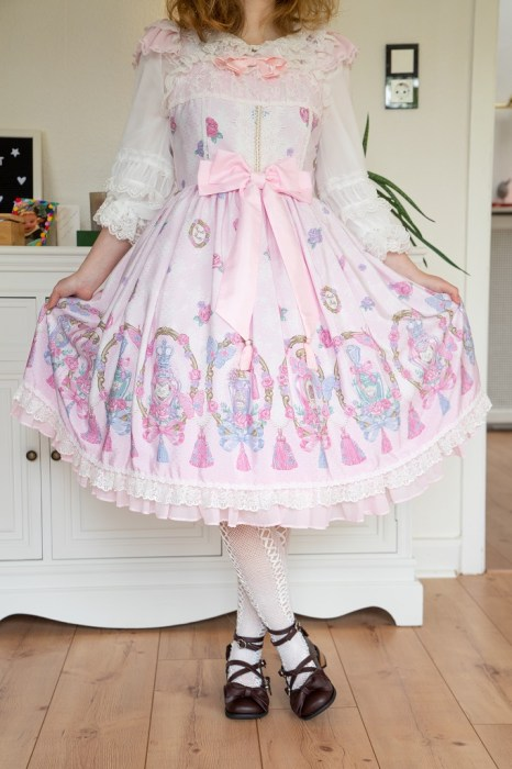 Angelic Pretty Romantic Perfume Lolita Outfit Coord 2