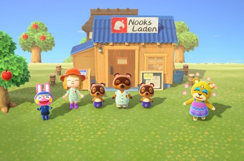 Animal Crossing New Horizons Titelbild nerdyhasche