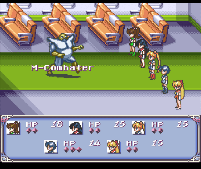 Pretty Soldier Sailor Moon - Another Story SNES RPG Super Ninendo Kampfsystem