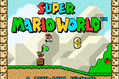 Retrospektive Super Mario World Titelbild