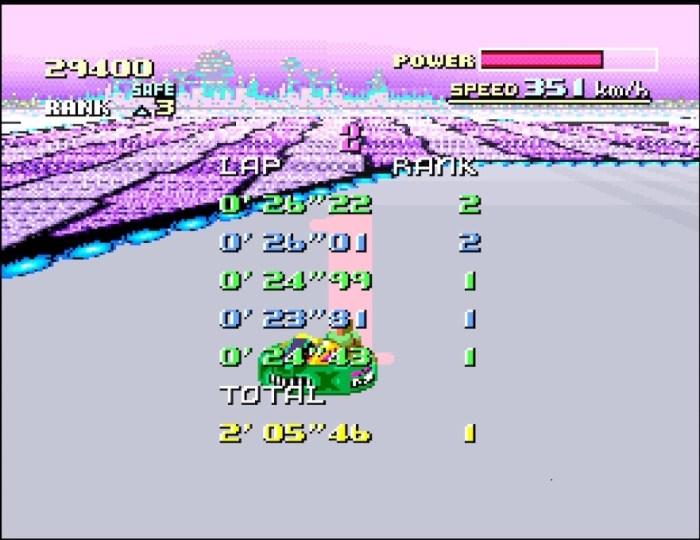 F-Zero Grand Prix Ende