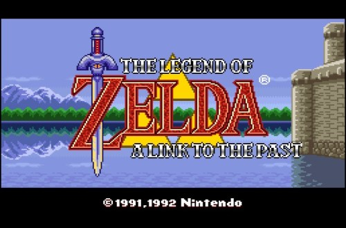 The Legend of Zelda A Link to the Past Titelbild