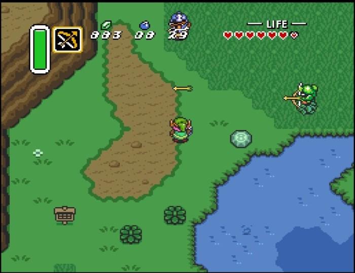 Zelda A Link to the Past Oberwelt