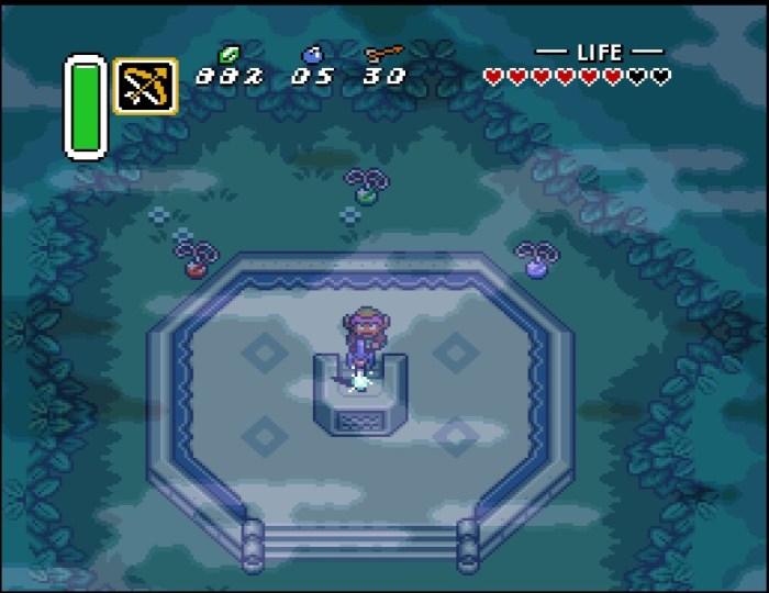 Zelda A Link to the Past Schwert Wald