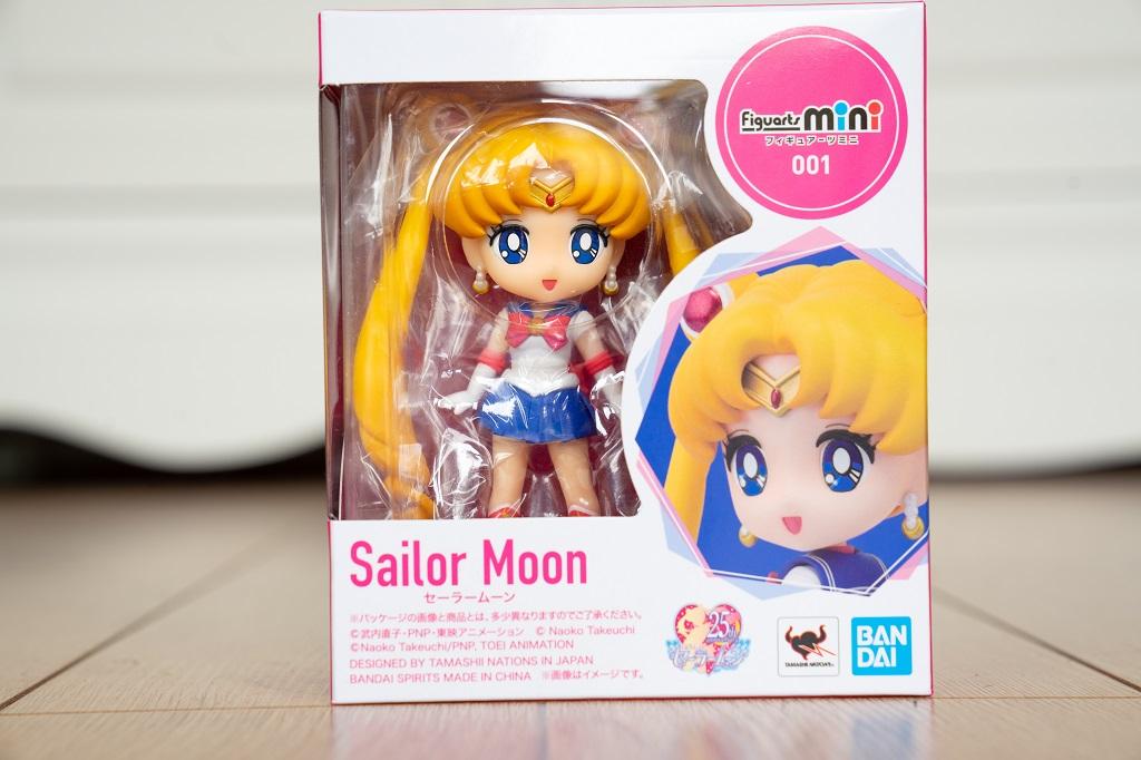 Figuarts Mini Sailor Moon Verpackung