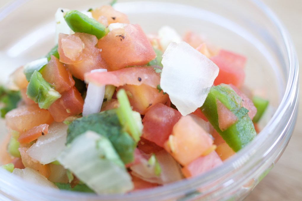 pico de gallo makes gluten free tortilla soup easier