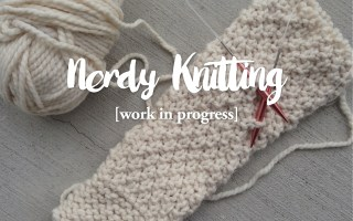 knitting an oversized chunky cardigan inspired by free people and brandey melville