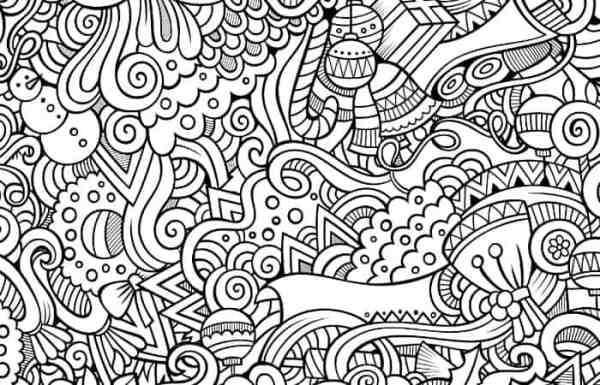 adult christmas coloring pages # 25