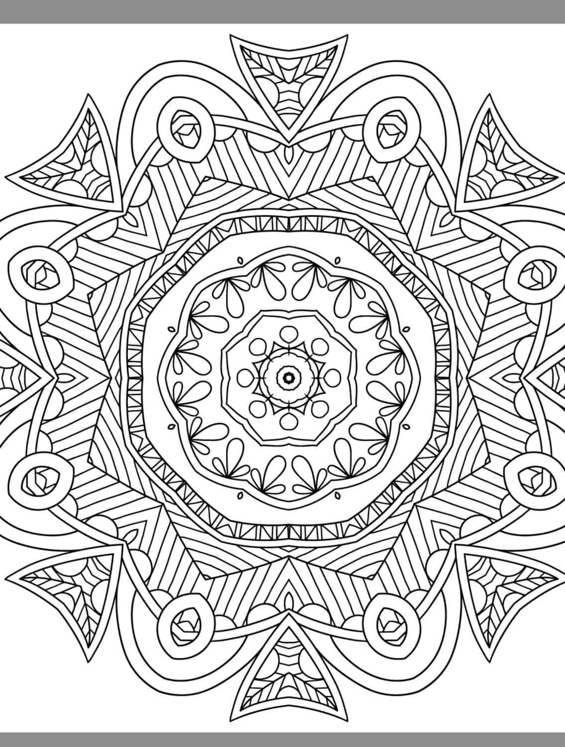24 more free printable adult coloring pages page 25 of for Free adult online coloring pages