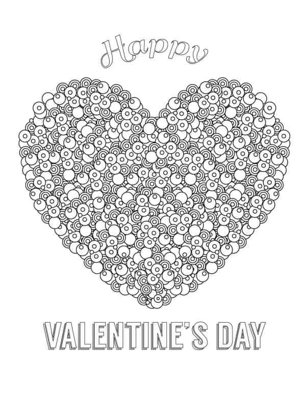 coloring pages for valentines day printable # 71