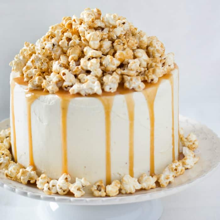 Vegan Caramel Cake