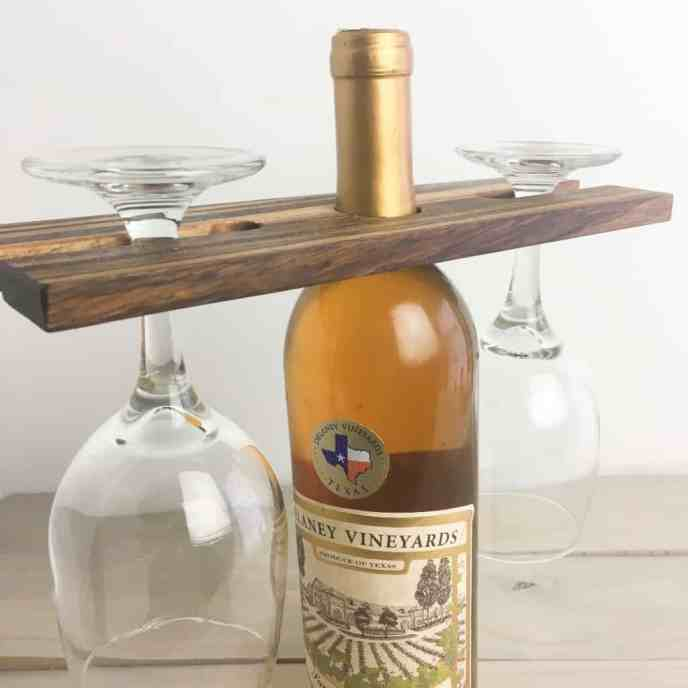 How to Make a Small Wine Butler from Scrap Wood - Nerdy Mamma
