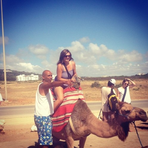 Camel rides in Morocco!