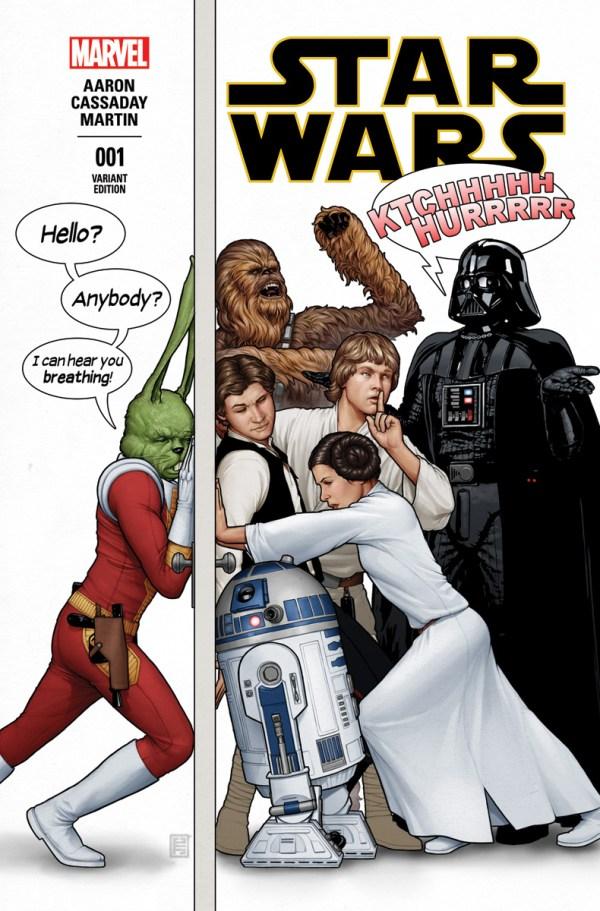 Star Wars Marvel (2015) John Tyler Christopher Variant 1st First Print #01 NM Bagged & Boarded