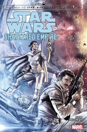 Journey to Star Wars: The Force Awakens – Shattered Empire #03 NM Bagged & Boarded