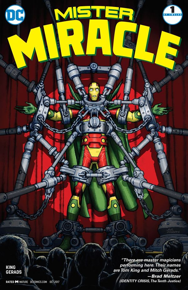 Mister Miracle (2017) #1 Bagged & Boarded NM 1st Edition