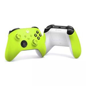 Microsoft Official Xbox Series X Wireless Controller – Electric Volt