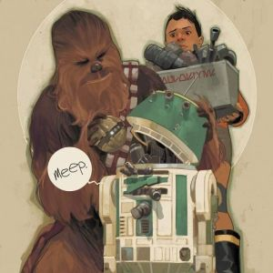 Star Wars: Chewbacca #4 First Print NM Bagged & Boarded