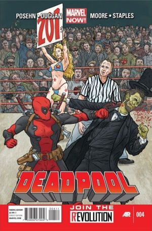 Deadpool (2013) #04 First Edition Bagged & Boarded NM