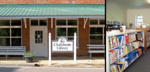 Chalybeate Library banner