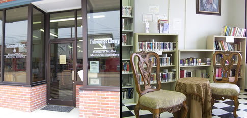 Tishomingo Library banner