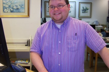Picture of Corinth Librarian Cody Daniel