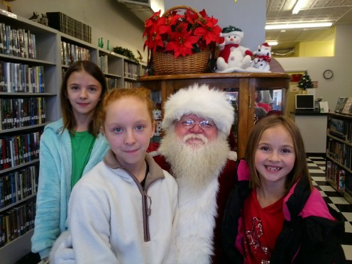 photo from Tishomingo Public Library Santa Party