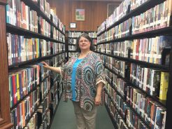 Ripley Public Library - Librarian Sheila Lence