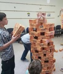 Giant Jenga Fun!