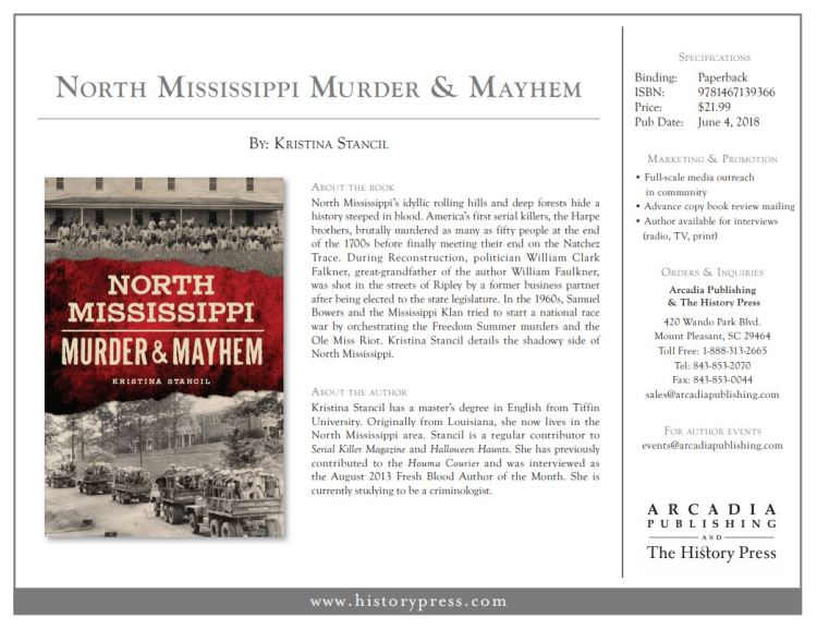 North Mississippi Murder and Mayhem