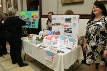 Dee Hare, Director of the Northeast Regional Library was at Library Advocacy Day in Jackson, Mississippi.