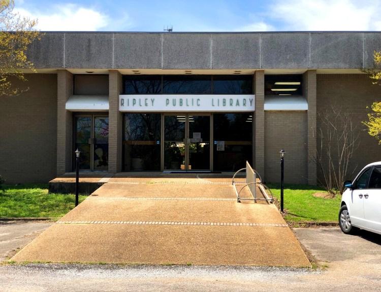 Ripley Library, April 17, 2019