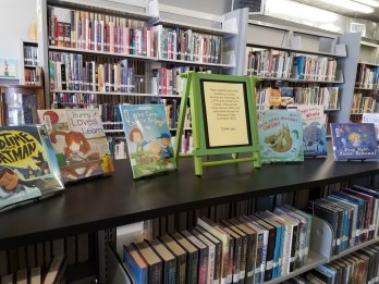 Tishomingo Library LSTA Book Display