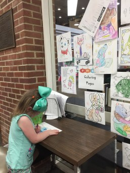 Snapshot Day at Corinth Library, August 6, 2019