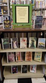 Tishomingo Library's LSTA Display looks great.
