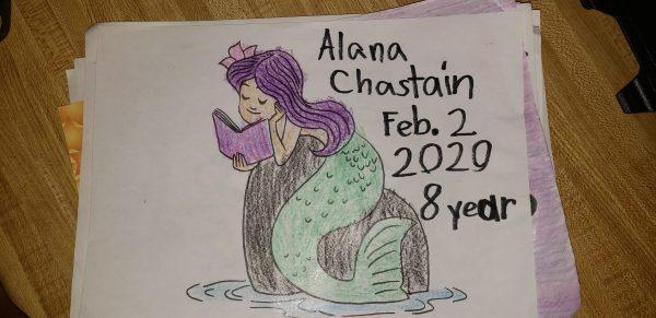Alana Chastain, 8 years old, loves Summer Reading Program!