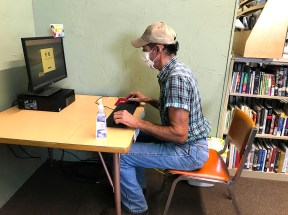 Burnsville has an isolated Public Computer available by appointment.