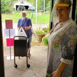 Gwen Spain making CurbSide happen at the Iuka Library
