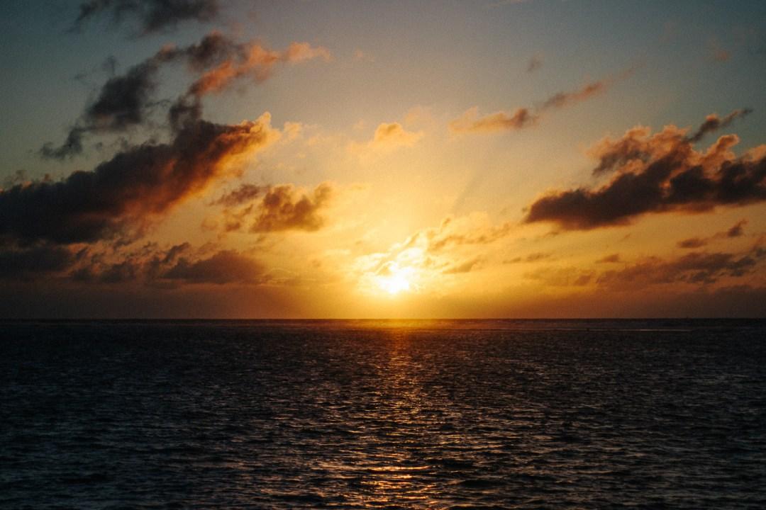 American Samoa sunrise