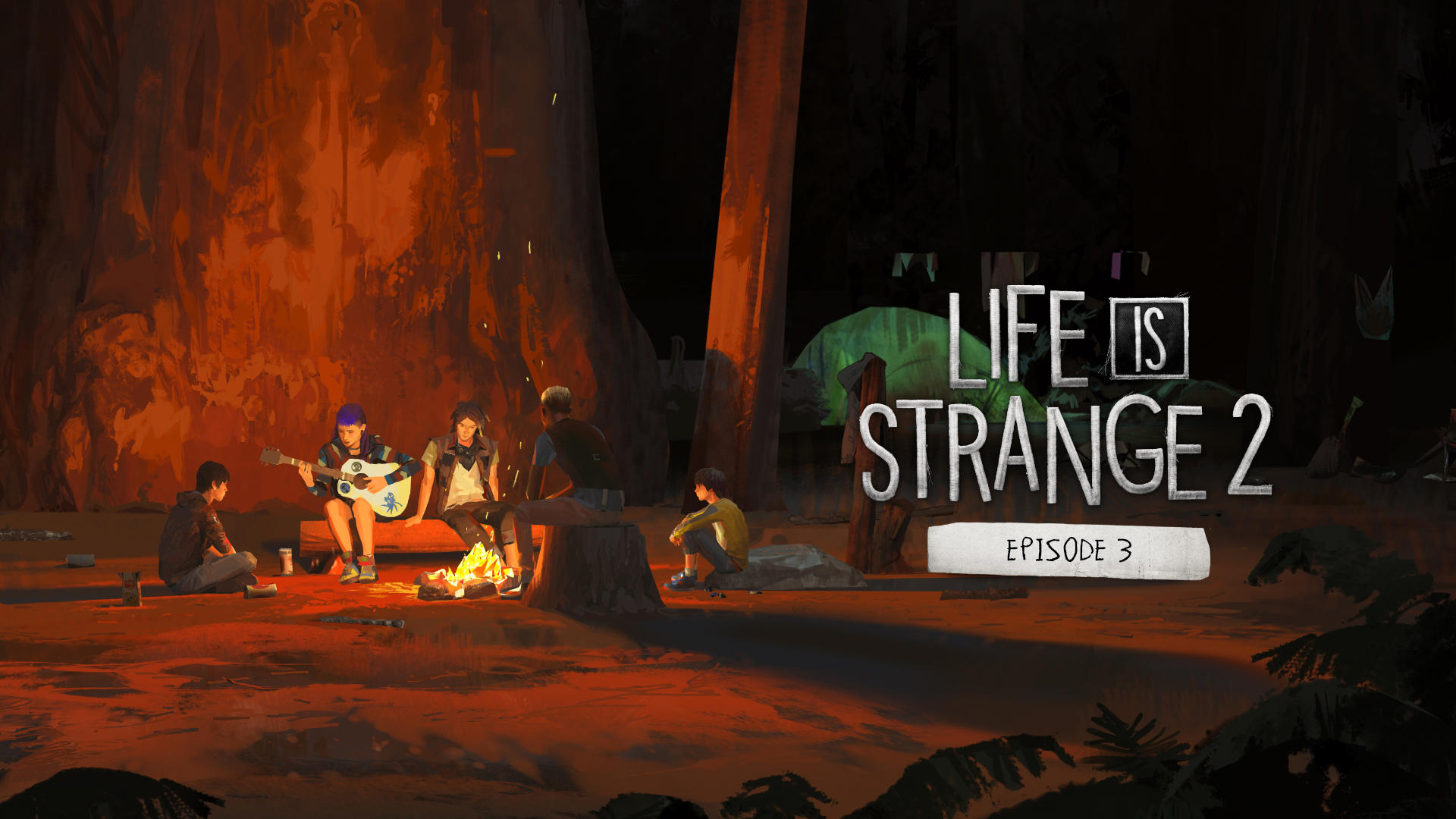 Life Is Strange 2 Guide Move The Trunk And The Fallen Tree