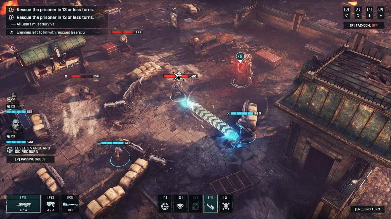 Gears Tactics - Gameplay