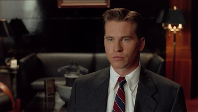 Val Kilmer, looking quite dapper dressed to the nines for this flick