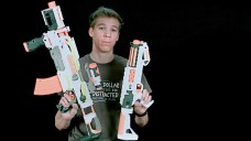 2015 Star Wars and Modulus Blasters Comparison