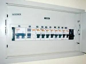cuadro electrico domestico