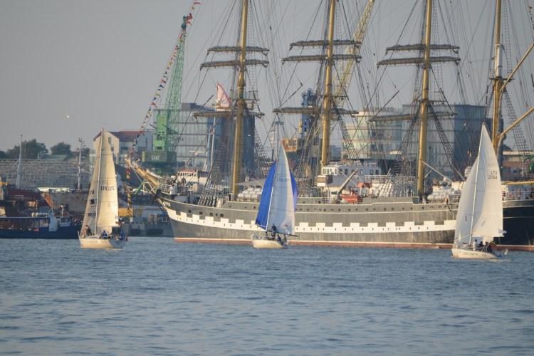 Kursių marių regata 2016 start