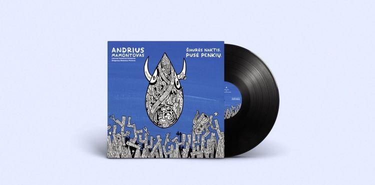 šiaurės naktis albumo viršelis