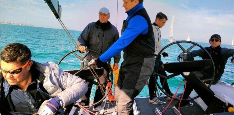 Dia įgula ORC jūrinių jachtų pasaulio čempionate 2
